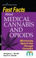 Fast facts about medical cannabis and opioids : minimizing opioid use through cannabis