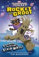 ROCKET AND GROOT : stranded on planet strip mall!.