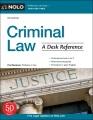 Criminal law : a desk reference
