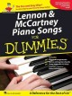 Lennon and McCartney piano songs for dummies
