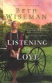 Listening to love [large print]