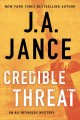 Credible threat [text (large print)]