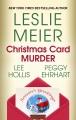 Christmas card murder [text (large print)]