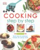Cooking step by step.