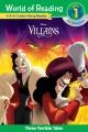 Disney villains : three terrible tales.