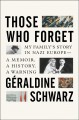 Those Who Forget: My Family's Story in Nazi Europe - A Memoir, a History, a Warning
