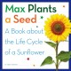 Max plants a seed : a book about the life cycle of a sunflower