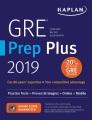 GRE prep plus 2019.