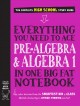 Everything you need to ace pre-algebra and algebra 1 in one big fat notebook : the complete high school study guide