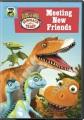 Dinosaur train. Meeting new friends.