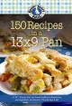 150 recipes in a 13 x 9 pan.
