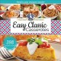 Easy classic casseroles.