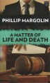 A matter of life and death [large print]