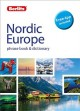 Nordic Europe phrase book & dictionary.