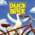 Duck on a bike