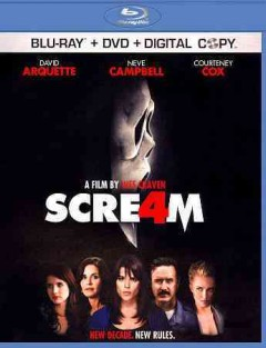 Scream 4 [Blu-ray + DVD combo] cover image