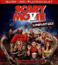 Scary movie V [Blu-ray + DVD combo] cover image