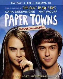 Paper towns [Blu-ray + DVD combo] cover image
