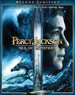 Percy Jackson. Sea of monsters [3D Blu-ray + Blu-ray + DVD combo] cover image
