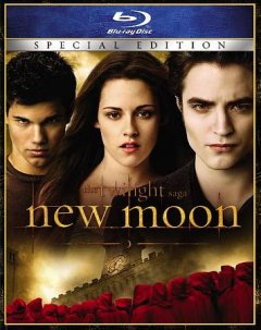 The twilight saga. New moon cover image