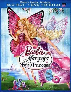 Barbie Mariposa and the fairy princess [Blu-ray + DVD combo] cover image