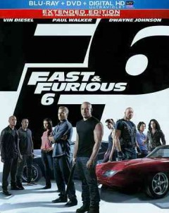 Fast & furious 6 [Blu-ray + DVD combo] cover image