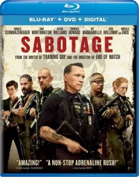 Sabotage [Blu-ray + DVD combo] cover image