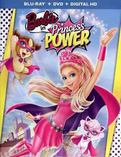 Barbie in Princess power [Blu-ray + DVD combo] cover image