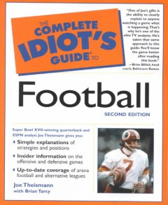 The complete idiot's guide to football cover image