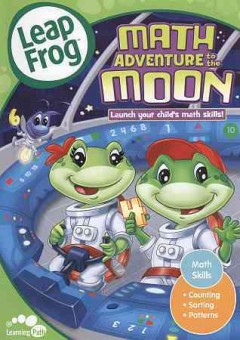 Math adventure to the Moon cover image