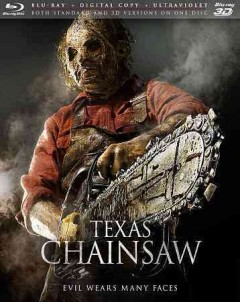 Texas chainsaw [3D Blu-ray] cover image