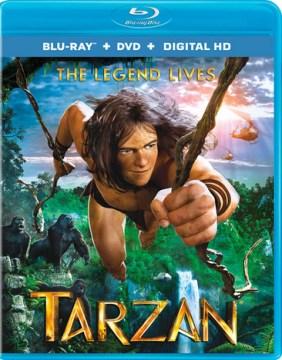 Tarzan [Blu-ray + DVD combo] cover image