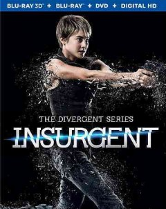 Insurgent [3D Blu-ray + Blu-ray + DVD combo] cover image