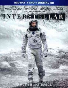 Interstellar [Blu-ray + DVD combo] cover image