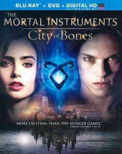The mortal instruments [Blu-ray + DVD combo] city of bones cover image