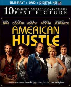 American hustle [Blu-ray + DVD combo] cover image