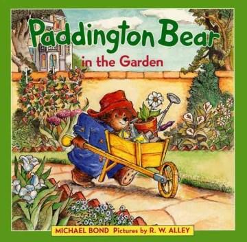 Paddington Bear in the garden cover image