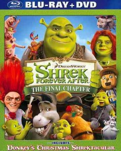 Shrek forever after [Blu-ray + DVD combo] the final chapter cover image
