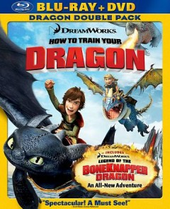 How to train your dragon [Blu-ray + DVD combo] cover image