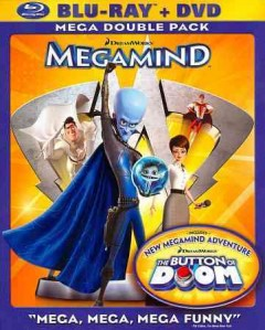 Megamind [Blu-ray + DVD combo] cover image