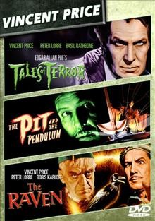 Tales of terror, the pit and the pendulum, the raven cover image