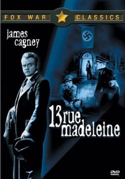 13 Rue Madeleine cover image