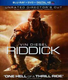Riddick [Blu-ray + DVD combo] cover image