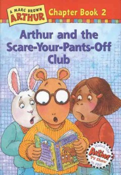 Arthur and the scare-your-pants-off club cover image
