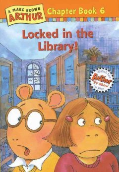 Locked in the library! cover image