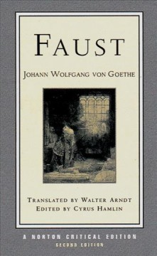 Faust : a tragedy : interpretive notes, contexts, modern criticism cover image