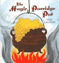 The magic porridge pot cover image