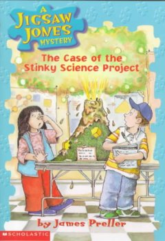 The case of the stinky science project cover image