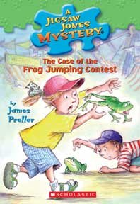 The case of the frog-jumping contest cover image