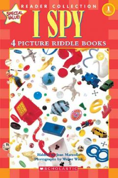 I spy : 4 picture riddle books cover image